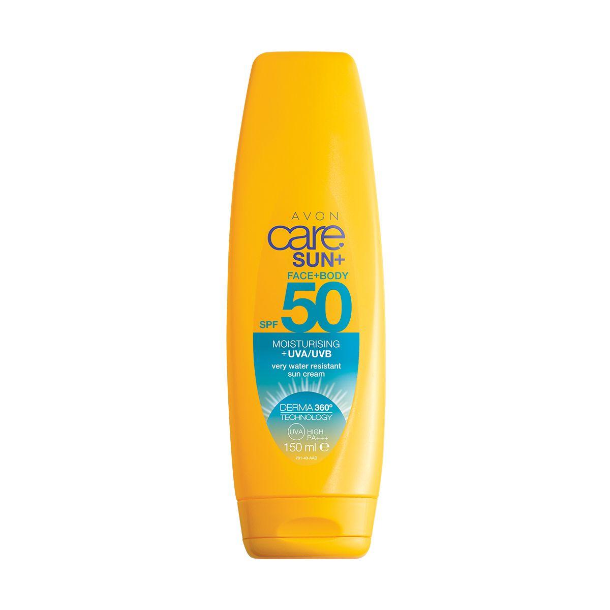إفون كير صن بيور أند سينسيتيف كريم مرطب لبشرة الوجه و الجسم واقي من الشمس. بعامل حماية من الشمس SPF50  94463 150ml