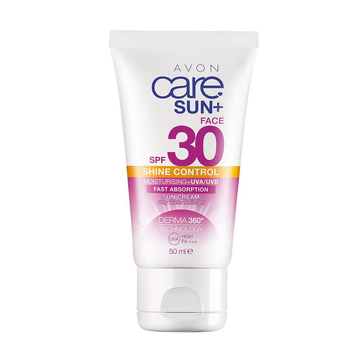 إفون كير صن كريم مرطب لبشرة الوجه واقي من الشمس يتحكم في لمعان البشرة. بعامل حماية من الشمس SPF30 1304667 50ml