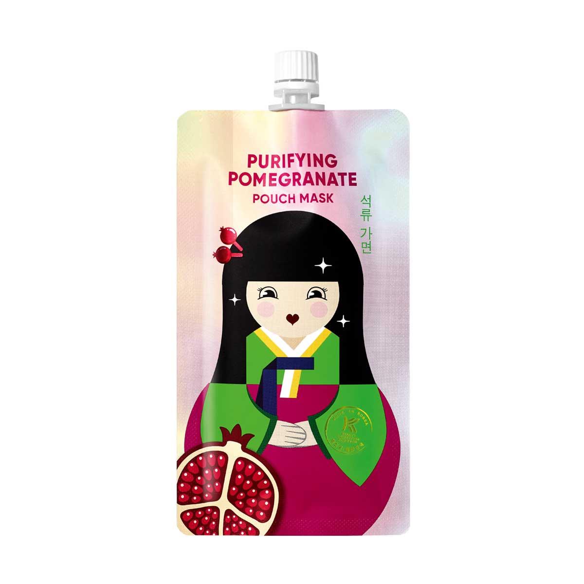 ينظف البشرة K-Beauty ماسك بمستخلصات الرمان 1318229 10ml